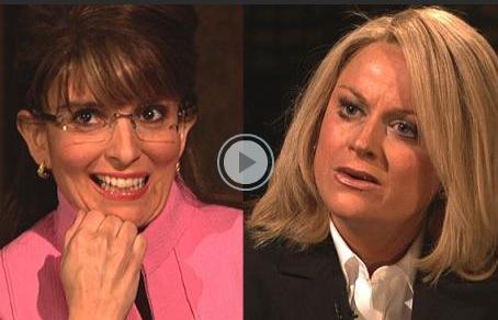 sarah palin tina fey. Tina Fey and Amy Poehler: I#39;ll