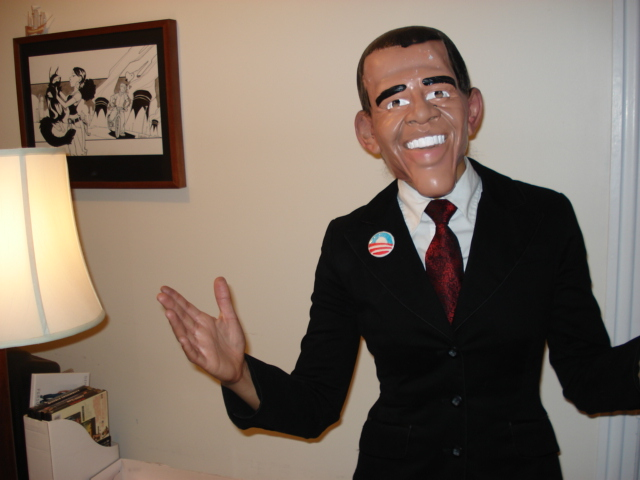 Ha ...  sc 1 st  pageslap - WordPress.com & How to be Barack Obama for Halloweu0027en | pageslap