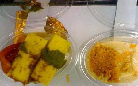 virgin airline branson food complain disgusting