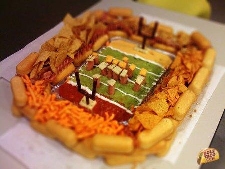 snack stadium superbowl party food