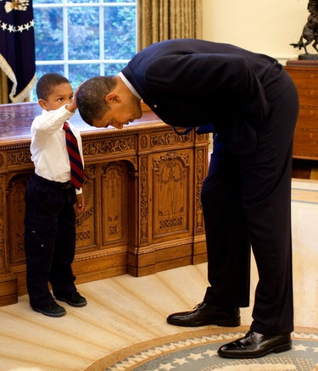 If that little boy is Muslim, I know some Republicans who are going to be verrry upset about this