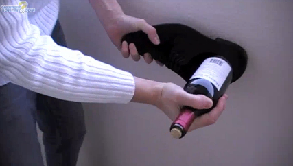 wine bottle cork corkscrew open shoe easy