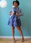 Zara Dress, H&M Blazer, Calvin Klein Belt, BCBG Shoes